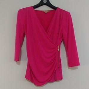 Pink Zipper Waist Size XS